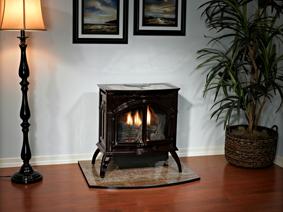 free standing heater