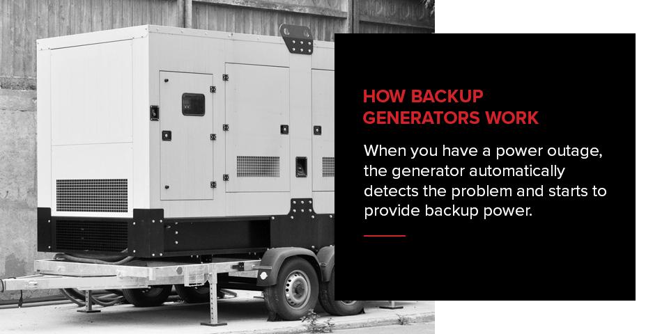 How do Backup Generators Work